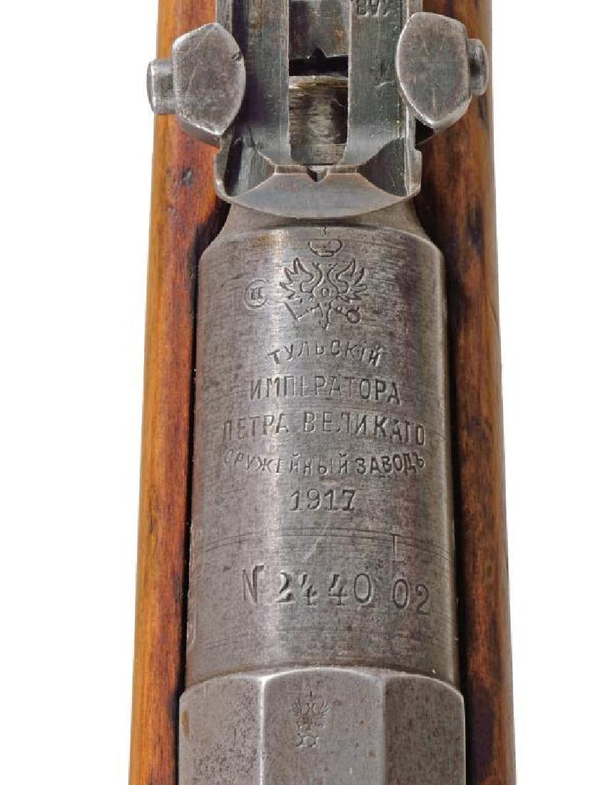 2 TULA MODEL 1891 FINNISH BOLT ACTION RIFLES. - 5