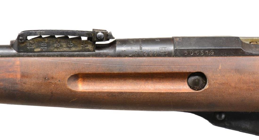 2 TULA MODEL 1891 FINNISH BOLT ACTION RIFLES. - 7