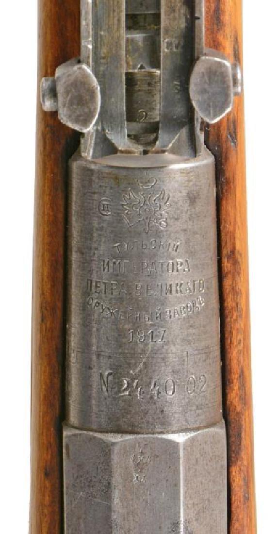 2 TULA MODEL 1891 FINNISH BOLT ACTION RIFLES. - 9