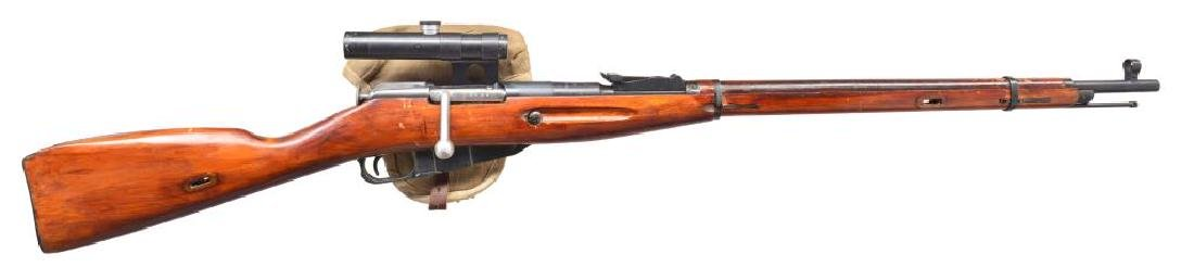 IZHEVSK MODEL 91/30 BOLT ACTION SNIPER RIFLE.