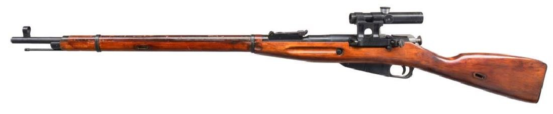 IZHEVSK MODEL 91/30 BOLT ACTION SNIPER RIFLE. - 2
