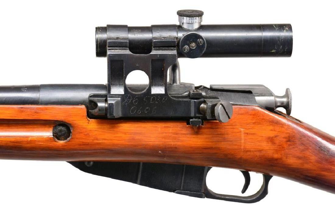 IZHEVSK MODEL 91/30 BOLT ACTION SNIPER RIFLE. - 3