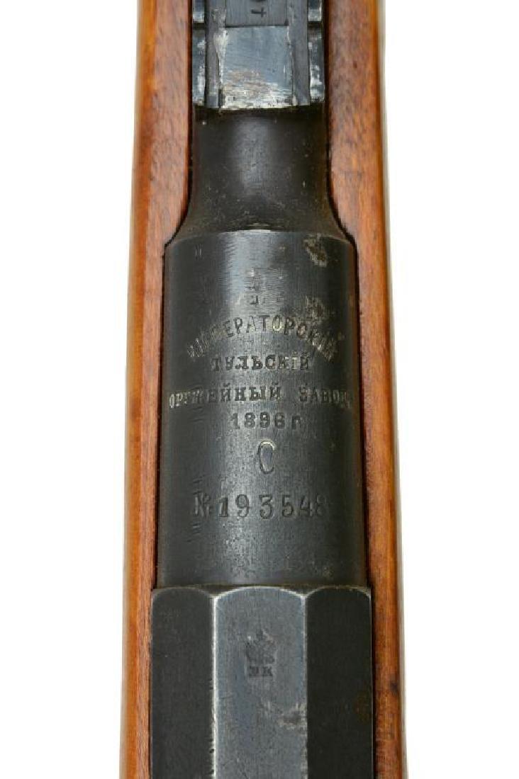 TULA ARSENAL MODEL 1891 BOLT ACTION RIFLE. - 3