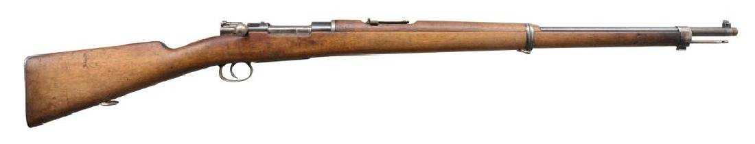 2 LOEWE CHILEAN MODEL 1895 BOLT ACTION RIFLES.