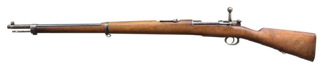 2 LOEWE CHILEAN MODEL 1895 BOLT ACTION RIFLES. - 2