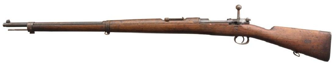 2 LOEWE CHILEAN MODEL 1895 BOLT ACTION RIFLES. - 3