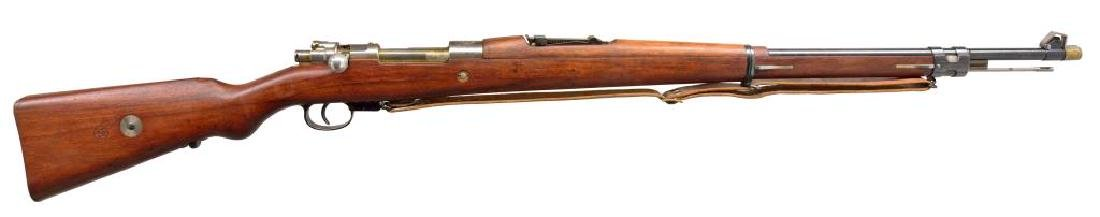 DWM BRAZILIAN 1908 BOLT ACTION RIFLE.