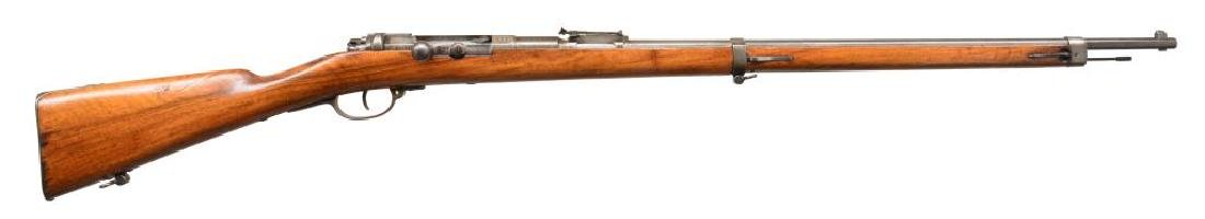 URUGUAYAN MODEL 1871/94 BOLT ACTION RIFLE.