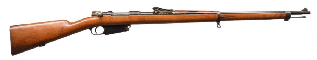 DWM MODEL 1891 PERUVIAN BOLT ACTION RIFLE.