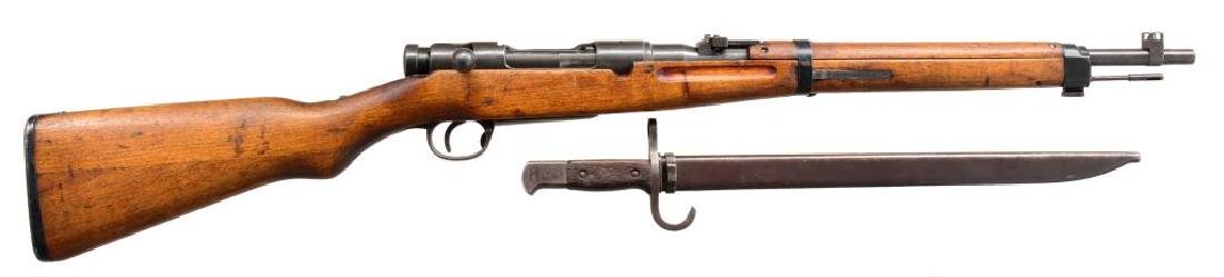 2 CURIO JAPANESE BOLT ACTION CARBINES.