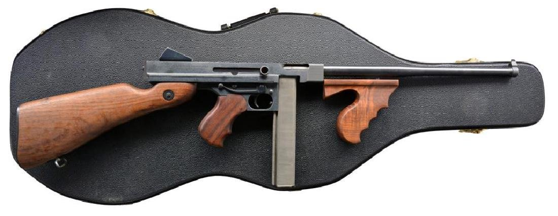 AUTO ORDNANCE THOMPSON 1927 A1 SEMI AUTO CARBINE.