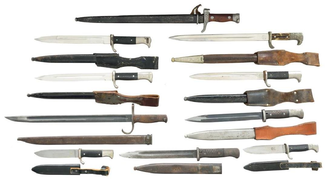 8 BAYONETS & 2 YOUTH KNIVES. - 2