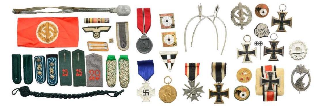 WWII GERMAN AWARDS & MILITARIA.