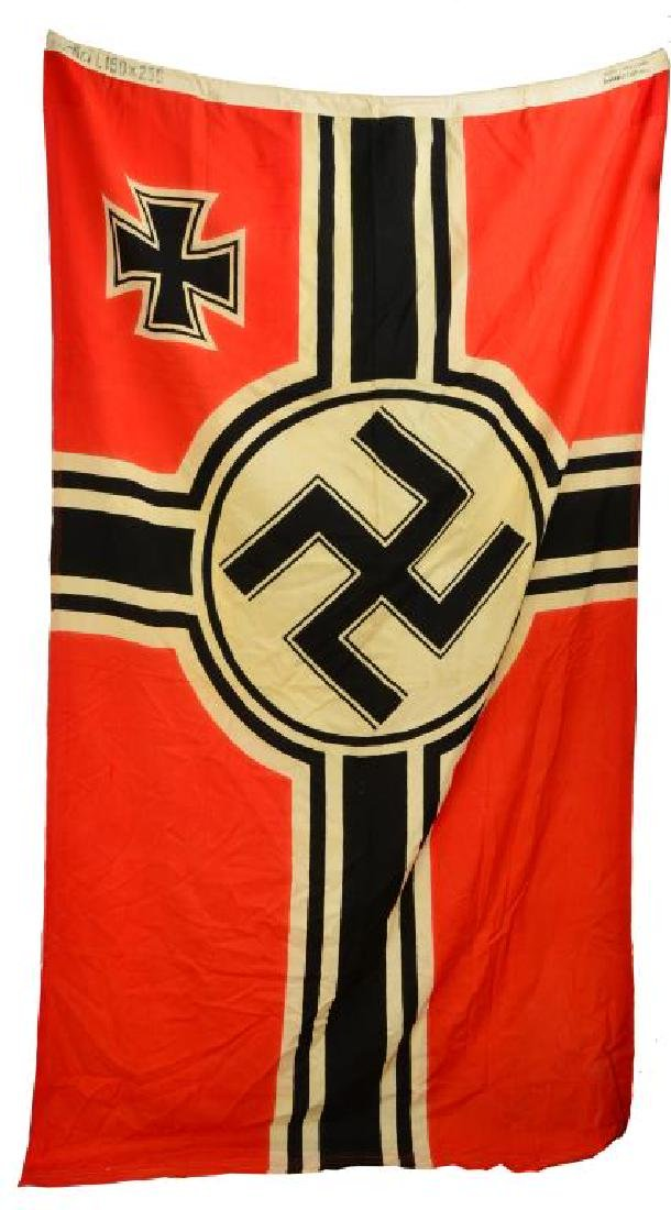 WWII GERMAN BANNERS, PENNANTS & FLAG. - 2