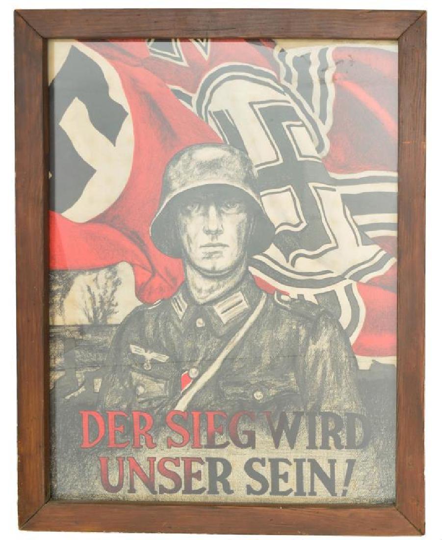 WWII GERMAN PRESENTATION PLAQUE, PORTFOLIOS, AND - 4