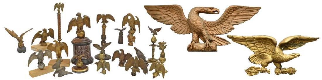 DECORATIVE AMERICAN EAGLES.