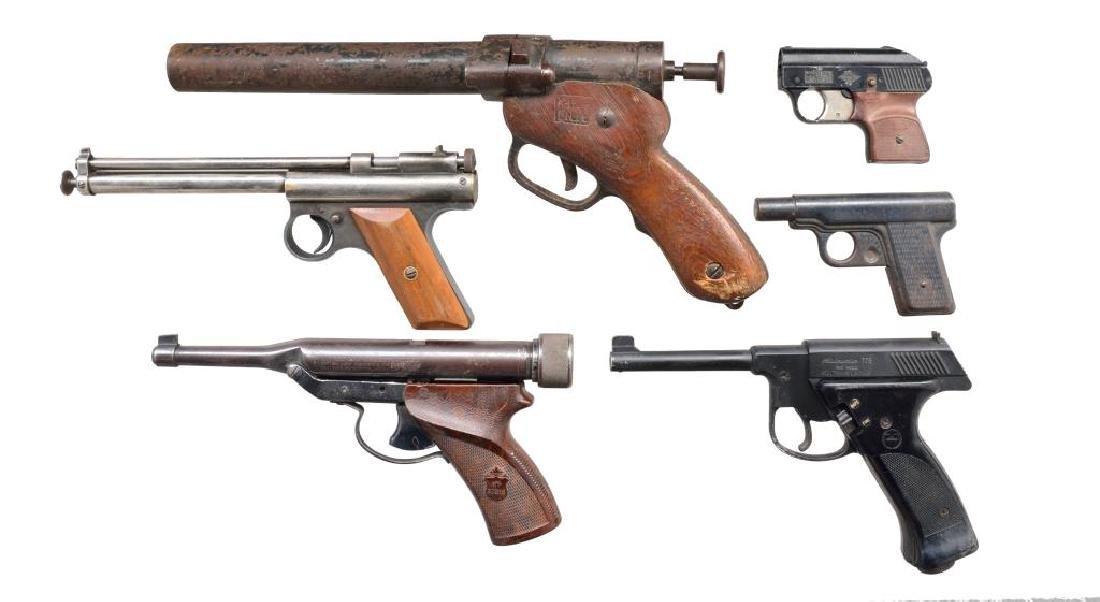 FLARE GUN, STARTER PISTOL, WATER GUN &