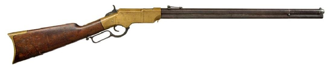 HENRY MODEL 1860 LEVER ACTION RIFLE.