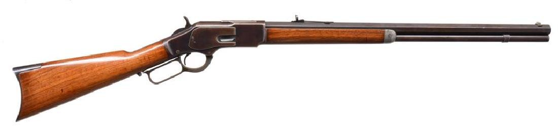 WINCHESTER 1873 THIRD MODEL LEVER ACTION RIFLE.