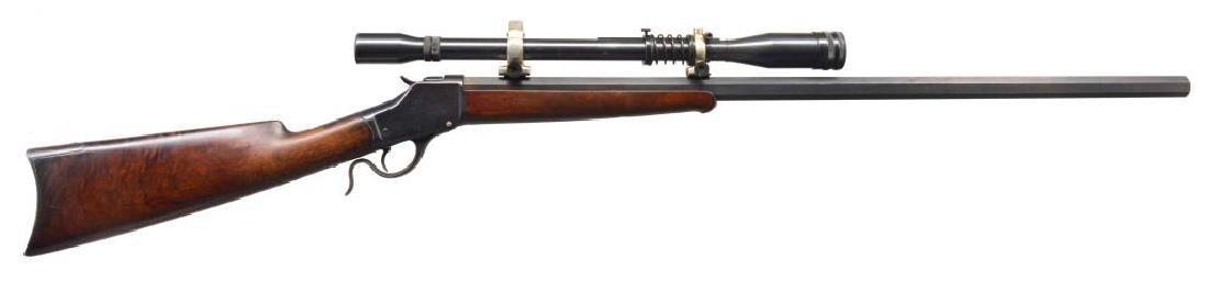 WINCHESTER 1885 HI WALL CUSTOMIZED SINGLE SHOT