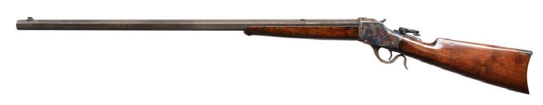 WINCHESTER 1885 HI WALL SINGLE SHOT RIFLE. - 2