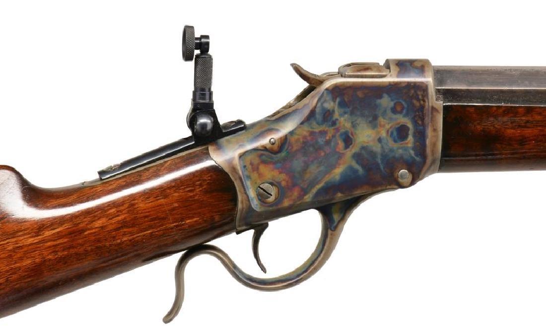WINCHESTER 1885 HI WALL SINGLE SHOT RIFLE. - 3