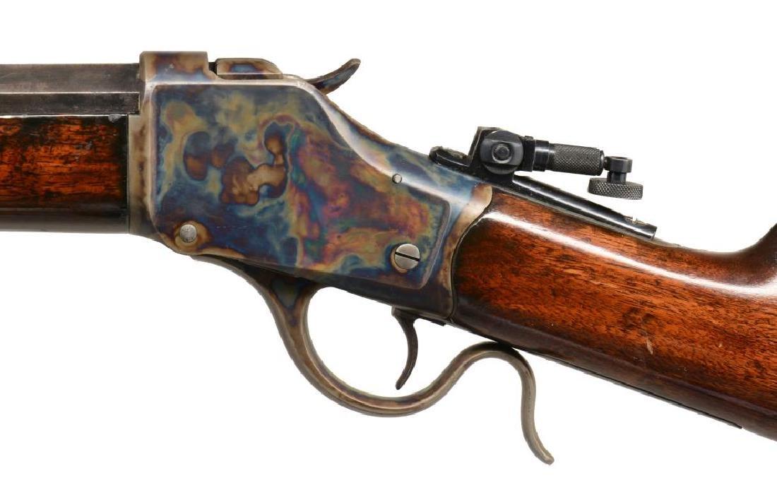 WINCHESTER 1885 HI WALL SINGLE SHOT RIFLE. - 4
