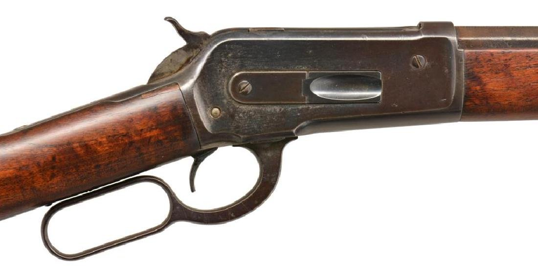 WINCHESTER 1886 LEVER ACTION RIFLE. - 3