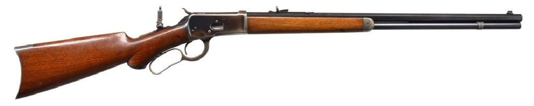 WINCHESTER 92 PISTOL GRIP LEVER ACTION RIFLE.