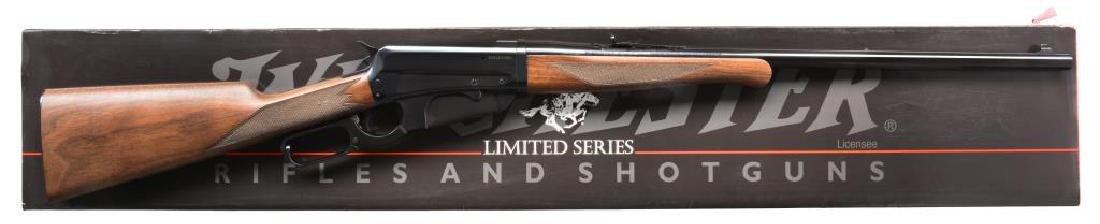 WINCHESTER 1895 TAKEDOWN LEVER ACTION RIFLE.