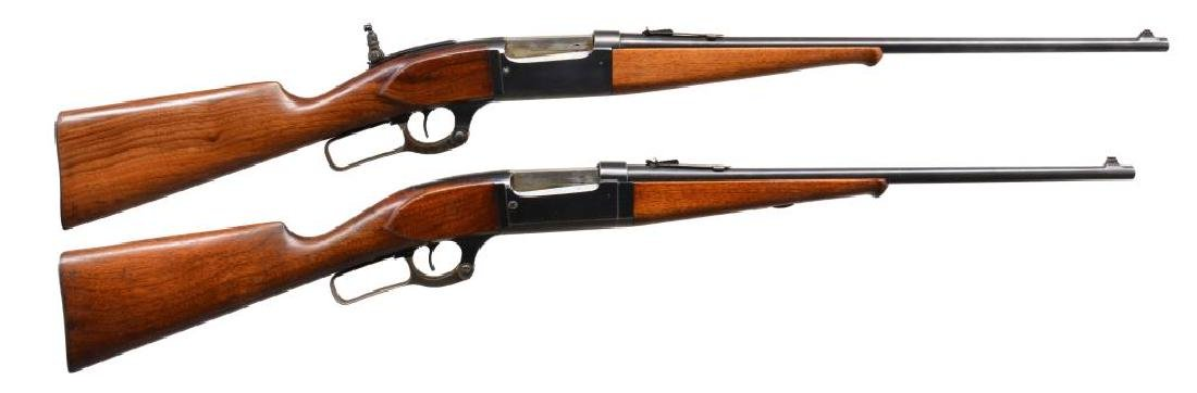 2 SAVAGE MODEL 99 LEVER ACTION 30-30 RIFLES.