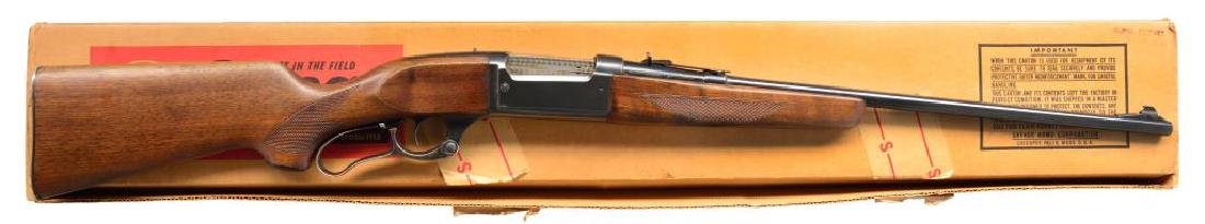 SAVAGE 99-F LEVER ACTION RIFLE.