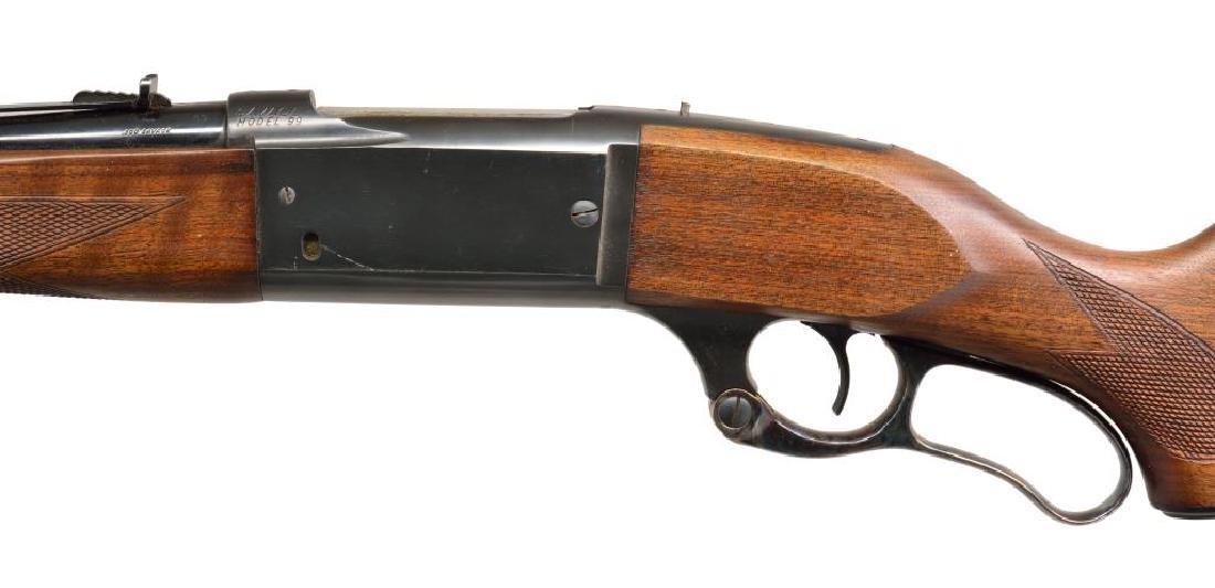 SAVAGE 99-F LEVER ACTION RIFLE. - 4