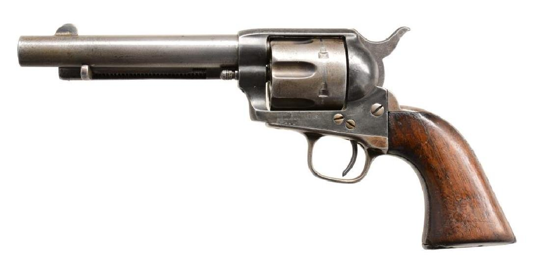 COLT ARTILLERY MODEL SAA REVOLVER WITH CUSTER
