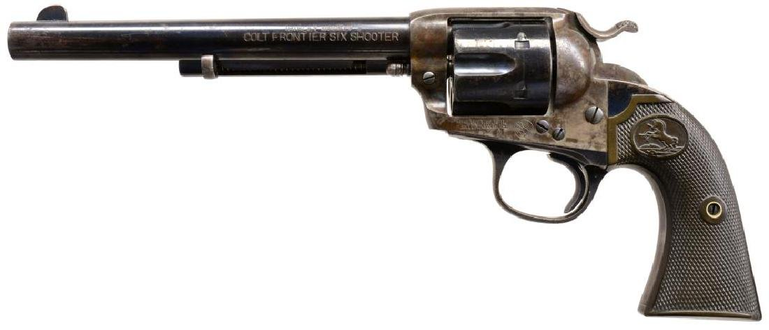 COLT BISLEY FRONTIER SIX SHOOTER SA REVOLVER.