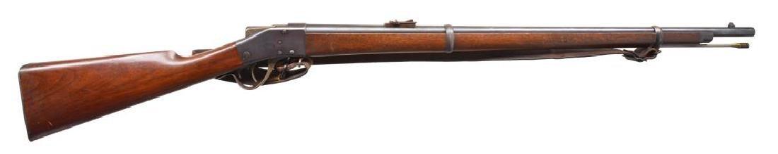 SHARPS 1878 BORCHARDT MILITARY SINGLE SHOT RIFLE.