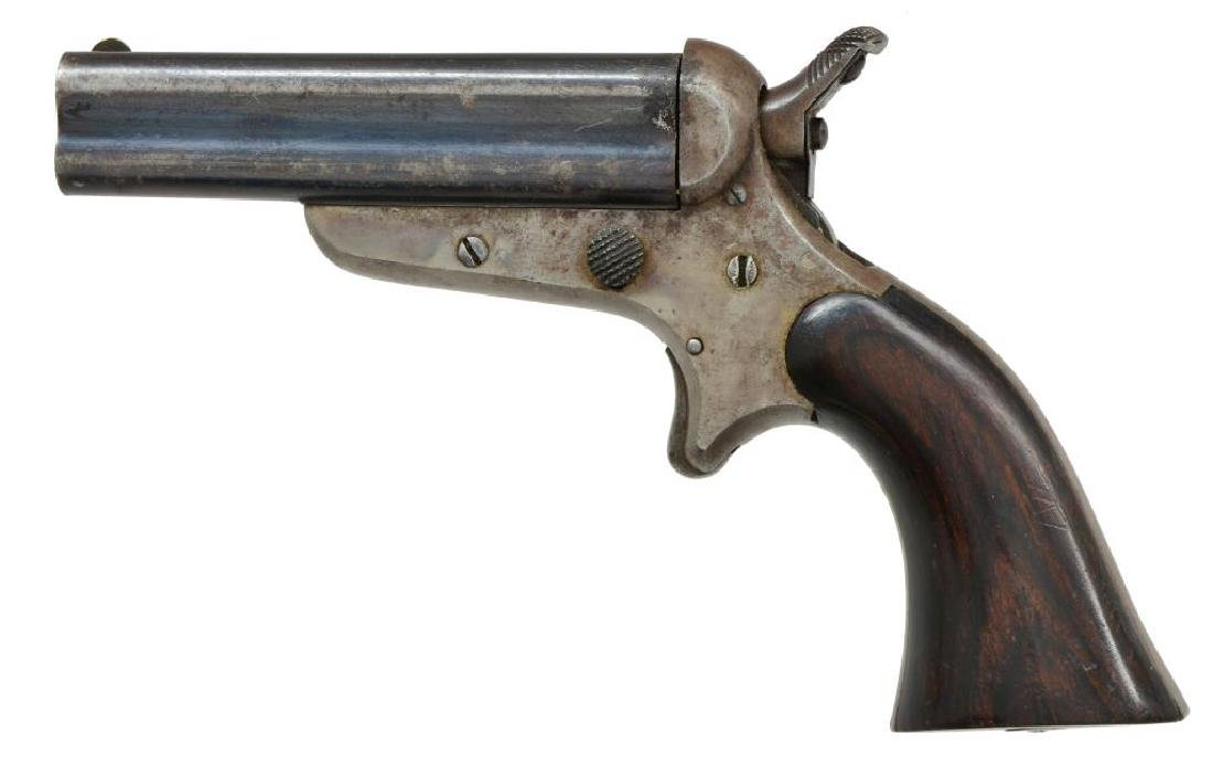 2 ANTIQUE PISTOLS BY SHARPS & HANKINS ALONG WITH - 4