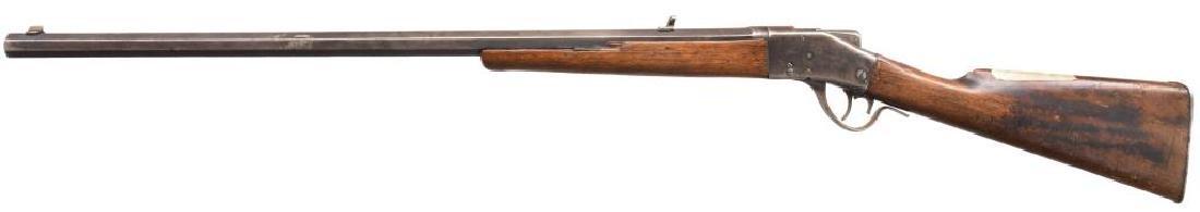 SHARPS 1878 BORCHARDT SINGLE SHOT RIFLE. - 2