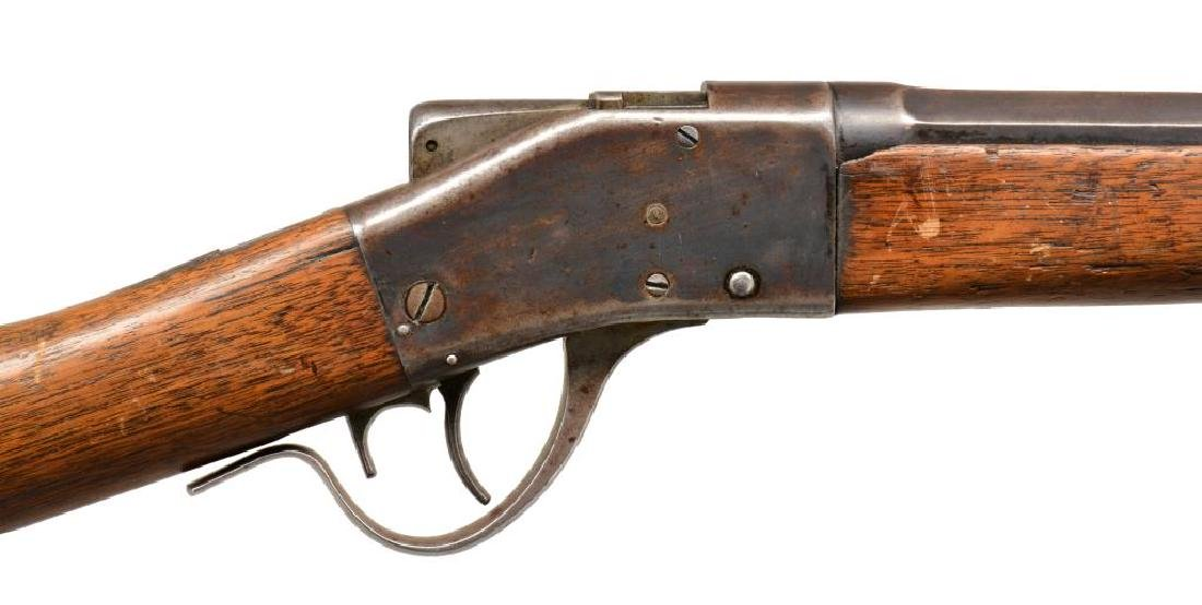 SHARPS 1878 BORCHARDT SINGLE SHOT RIFLE. - 3