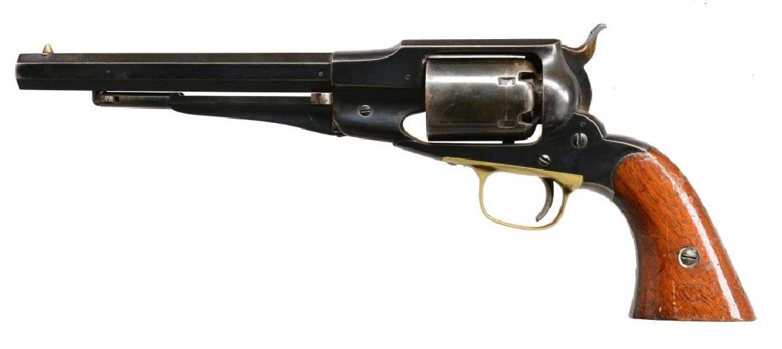 REMINGTON 1861 OLD MODEL NAVY REVOLVER WITH US MARKINGS