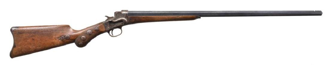 REMINGTON NO. 3 HEPBURN SINGLE SHOT RIFLE.