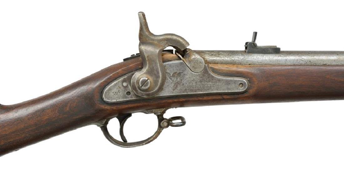 SPRINGFIELD M1863 RIFLE MUSKET. - 3