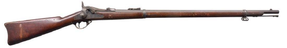 SPRINGFIELD & WERNDL SINGLE SHOT RIFLES.