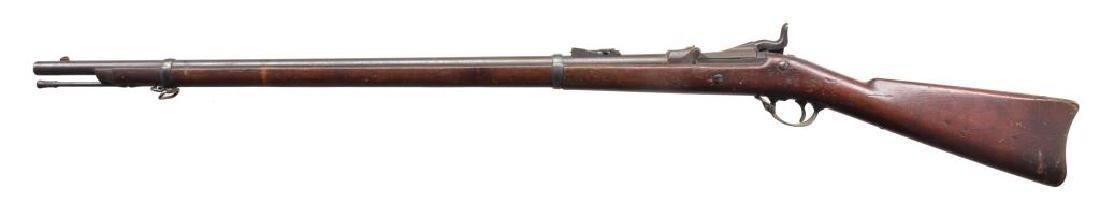 SPRINGFIELD & WERNDL SINGLE SHOT RIFLES. - 2