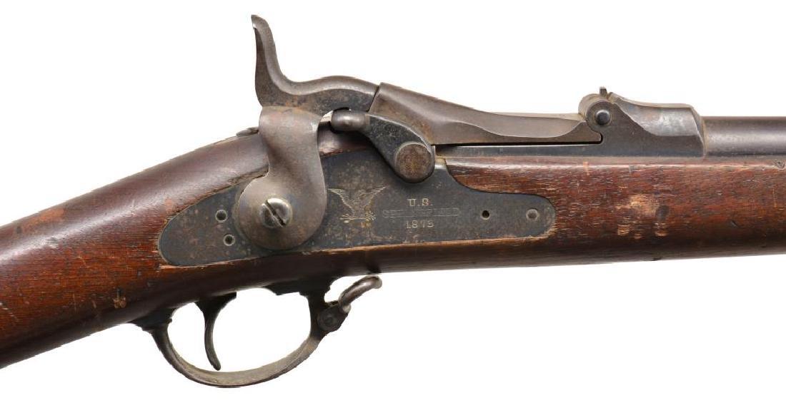 SPRINGFIELD & WERNDL SINGLE SHOT RIFLES. - 3