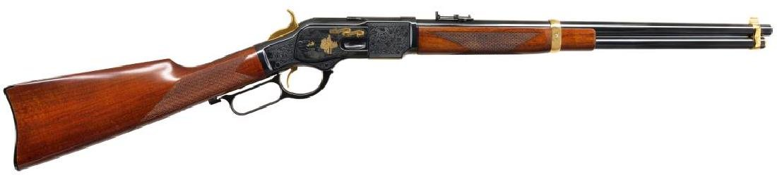 JOHN WAYNE MODEL 1873 COMMEMORATIVE LEVER ACTION