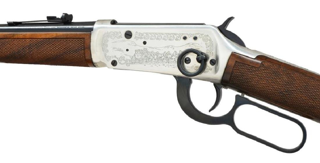 2 WINCHESTER MODEL 94 LEVER ACTION CARBINES. - 4
