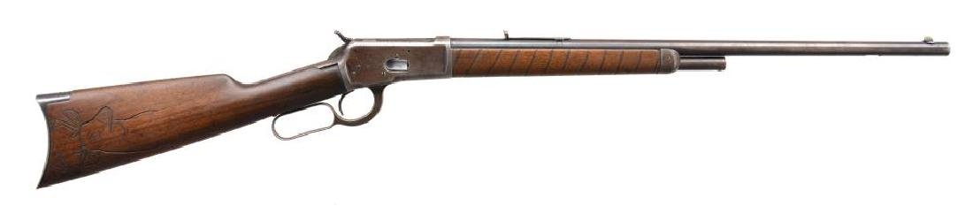 WINCHESTER MODEL 1892 LEVER ACTION RIFLE.