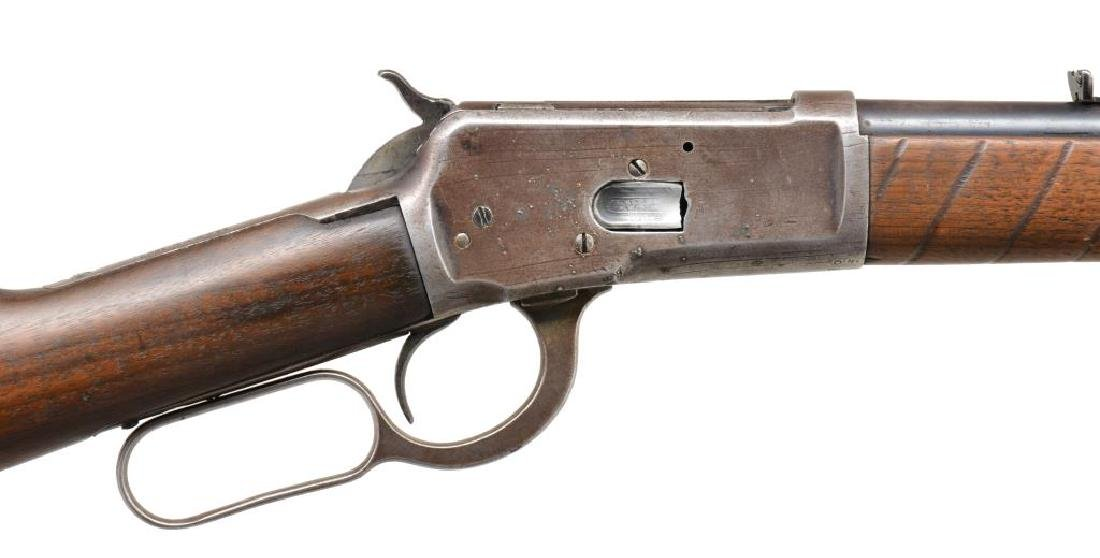 WINCHESTER MODEL 1892 LEVER ACTION RIFLE. - 3