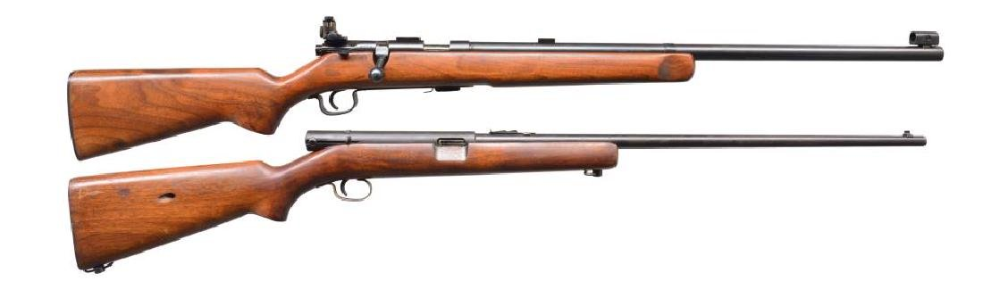 STEVENS AND WINCHESTER RIMFIRE RIFLES.